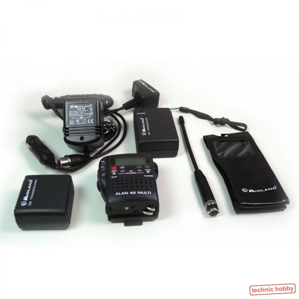 Handys & Kommunikation ZuverläSsig Set Albrecht Ae 6110 Mini Cb-funkgerät Mit Gamma 2f Antenne U Anschlußmaterial