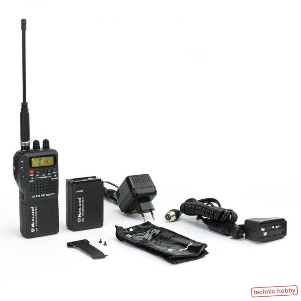 Funktechnik ZuverläSsig Set Albrecht Ae 6110 Mini Cb-funkgerät Mit Gamma 2f Antenne U Anschlußmaterial