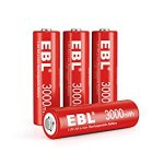 EBL Li-Ionen 1,5V AA
