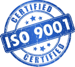 iso 9001 certified 150x135