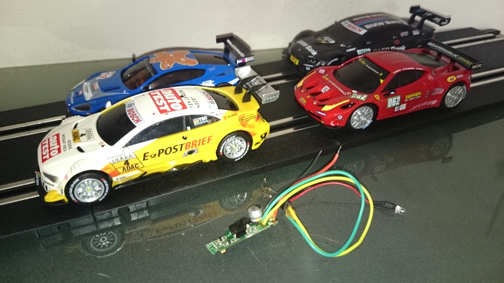 Scalextric Compact, Carrera GO oder dslot43